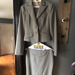 BCBG Grey Career Suit